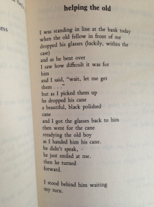 Charles Bukowski, You get so lonely sometimes that it just makes sense